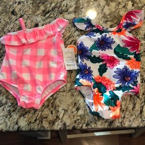 Infant One Piece Bathing Suit Bundle 3-6 months